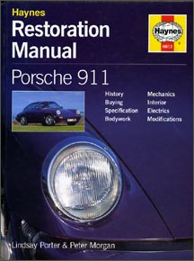 Haynes Restoration Manual Porsche 911